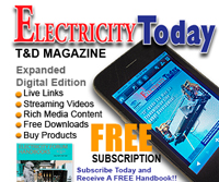 Subscribe to Electricity Today Magazine for FREE