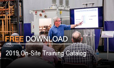 2019 On-Site Training Catalog