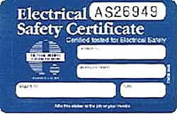 Electrical Safety Certification