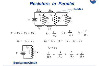 Resistances in Parallel explained
