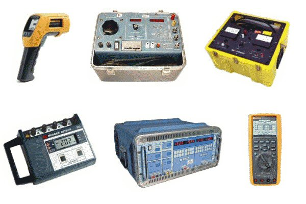 Various Electrical Calibration Test Equipment
