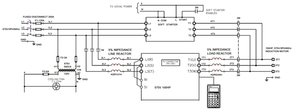 Typical VFD circuit drawing