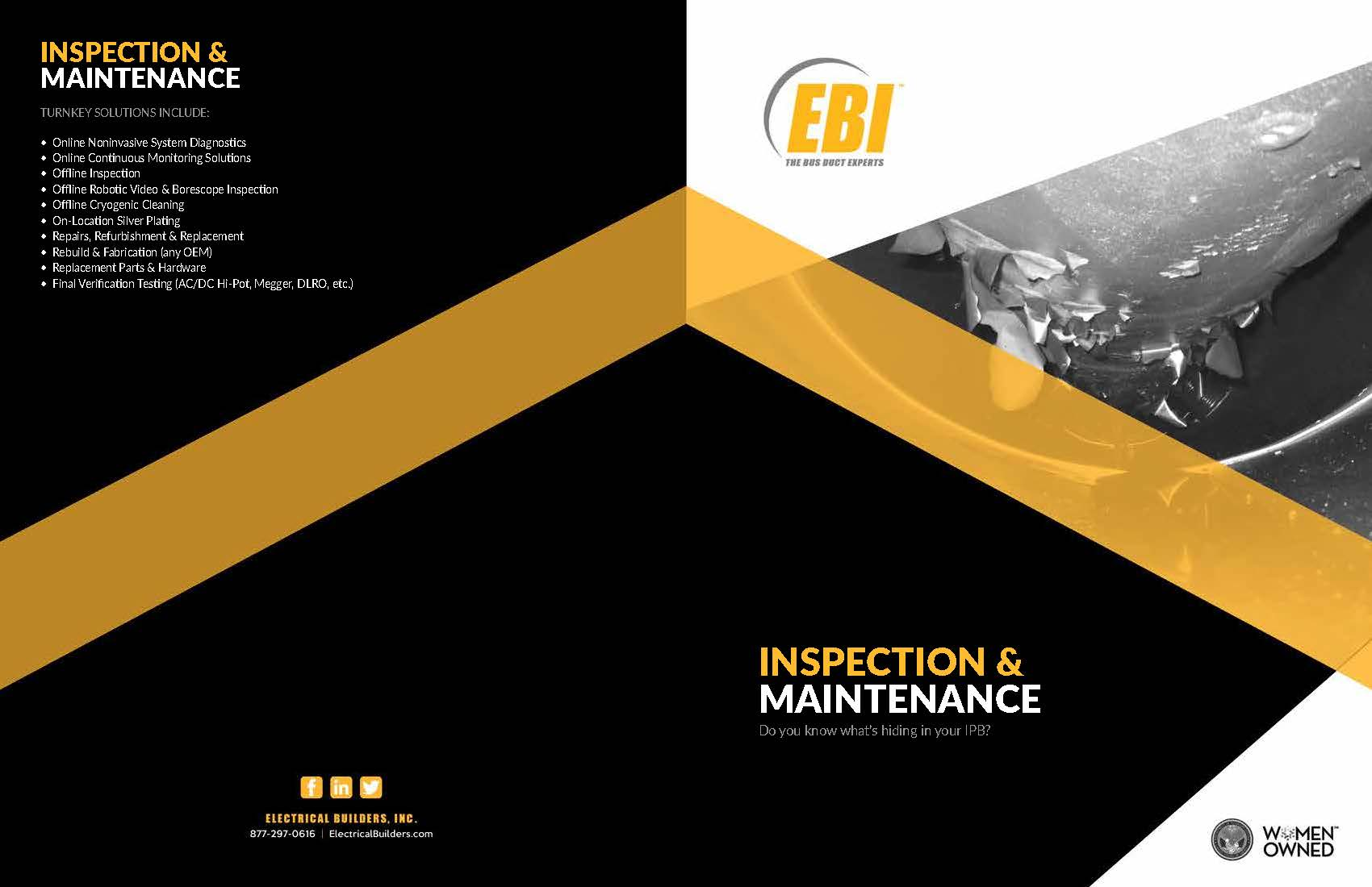 Inspection & Maintenance at Electricity Forum