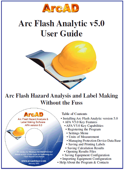 Arc Flash Analytic version 5.0 user guide at Electricity Forum