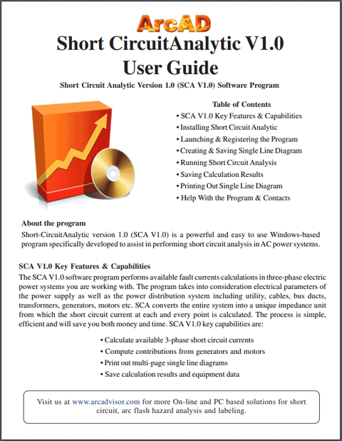 Short Circuit Analytic version 1.0 user guide