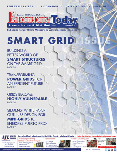 Electricity Today T&D Magazine - Summer 2018 Issue