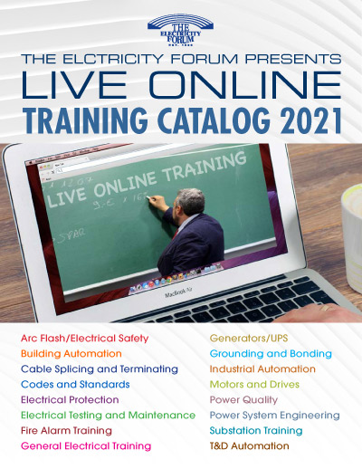 Live Online Training Catalog 2021