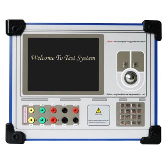 LDJB-802 microcomputer relay protection tester