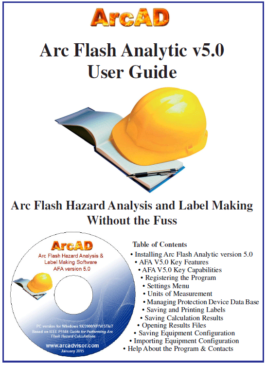 Arc Flash Analytic version 5.0 user guide