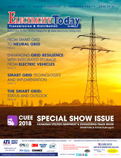 Electricity Today T&D Magazine - Fall 2018 Issue