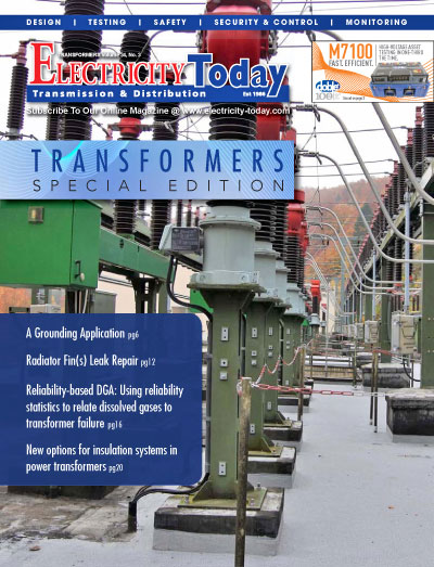 Electricity Today T&D Magazine - TRANSFORMERS Special Issue. 2021.