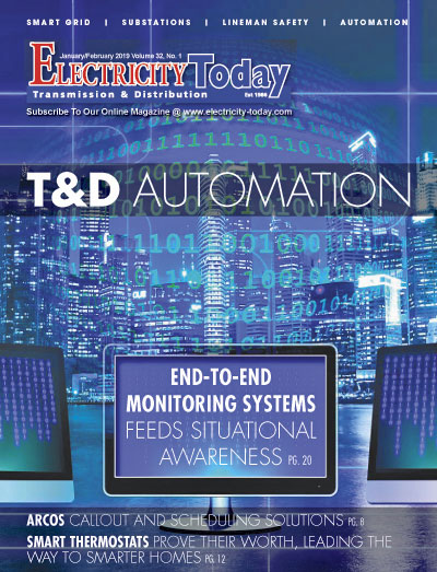 Electricity Today T&D Magazine - January-February 2019 Issue