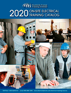 2018 On-Site Electrical Training Catalog