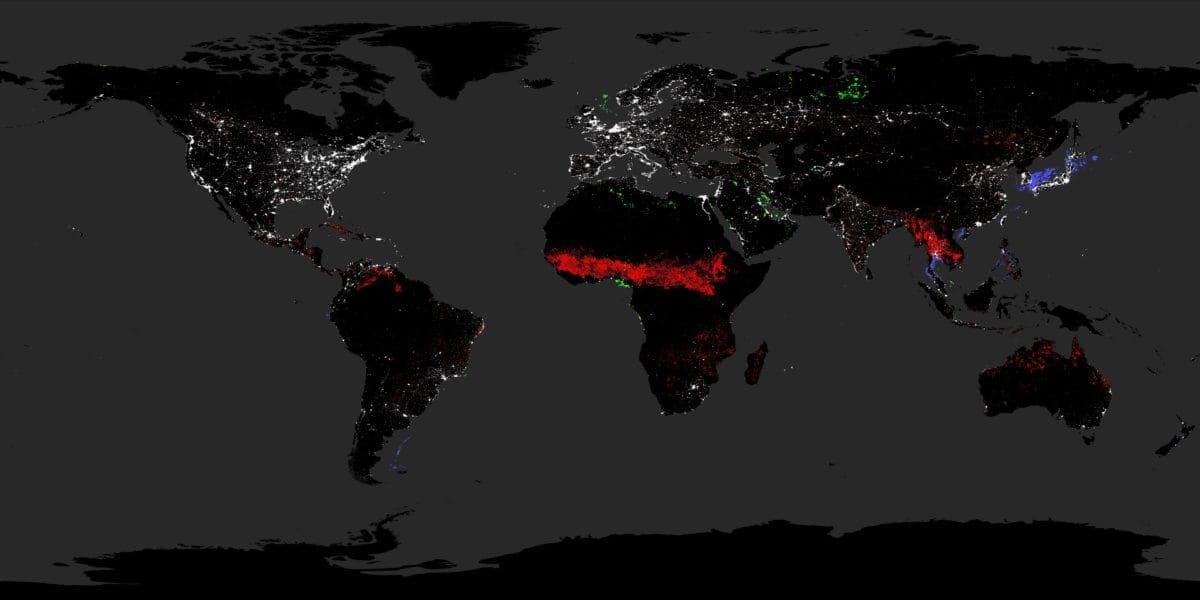 Nighttime satellite images have been used by Christopher Elvidge, at the Colorado School of Mines, to assess the reliability of India's electric grid.