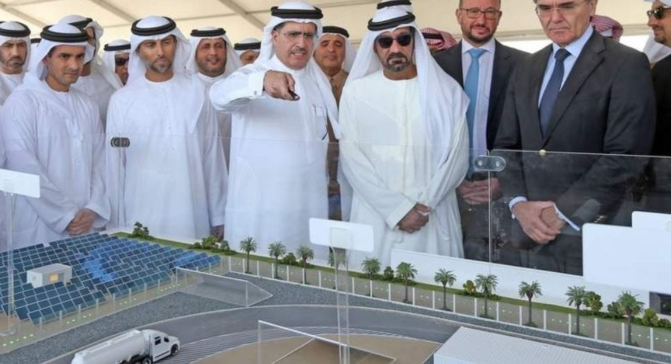 Sheikh Ahmed bin Saeed Al Maktoum; Suhail bin Mohammed Faraj Faris Al Mazrouei, UAE Minister of Energy and Industry