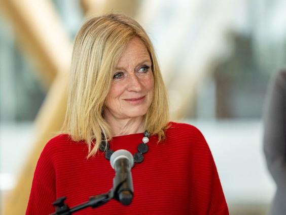 NDP Opposition Leader Rachel Notley.