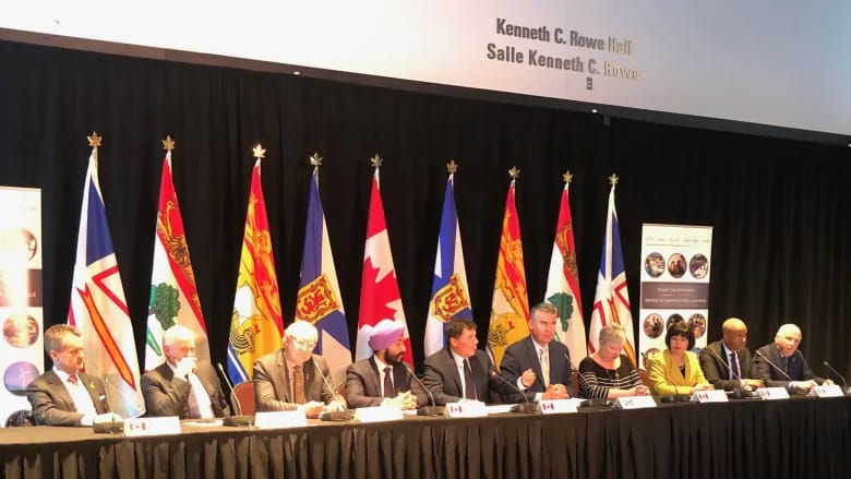 Federal and provincial politicians met at the Atlantic Growth Strategy in Halifax