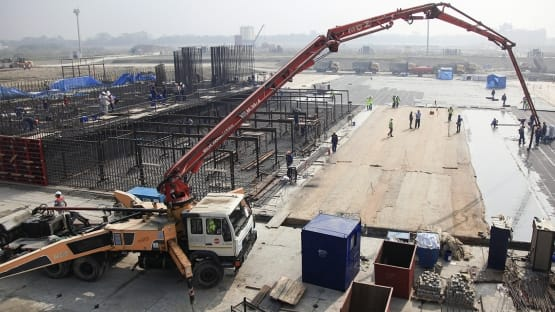 Construction of Bangladesh's first nuclear power plant began on 30 November 2017