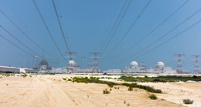 Barakah nuclear power plant construction site on target to completion