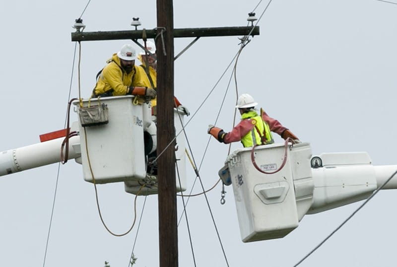 Hundreds of thousands of Texans are without power along the Gulf Coast