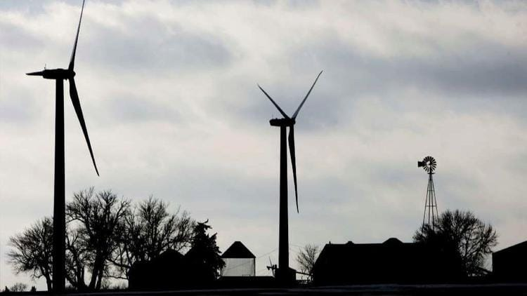 More than 36 percent of Iowa's electricity comes from wind turbines.