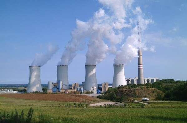 Coal-fired thermal power plant Detmarovice