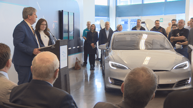 Liberal government pledges $1M for an electric vehicle education centre