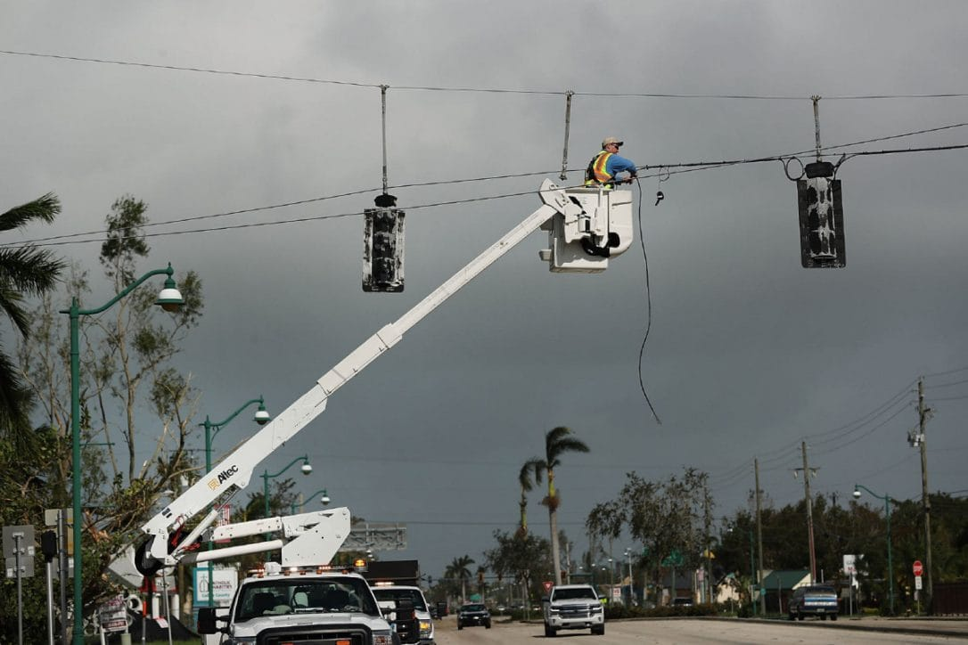 Hurricane Irma has left nearly 8 million homes without power