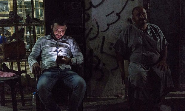For most Gaza residents, there is only electricity 2 hours each day