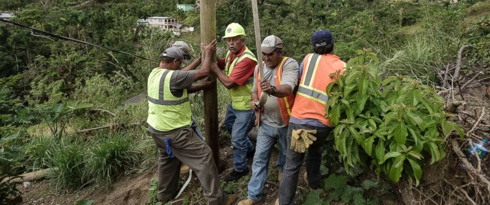 Puerto Rico's electricity has been restored to 75 percent capacity