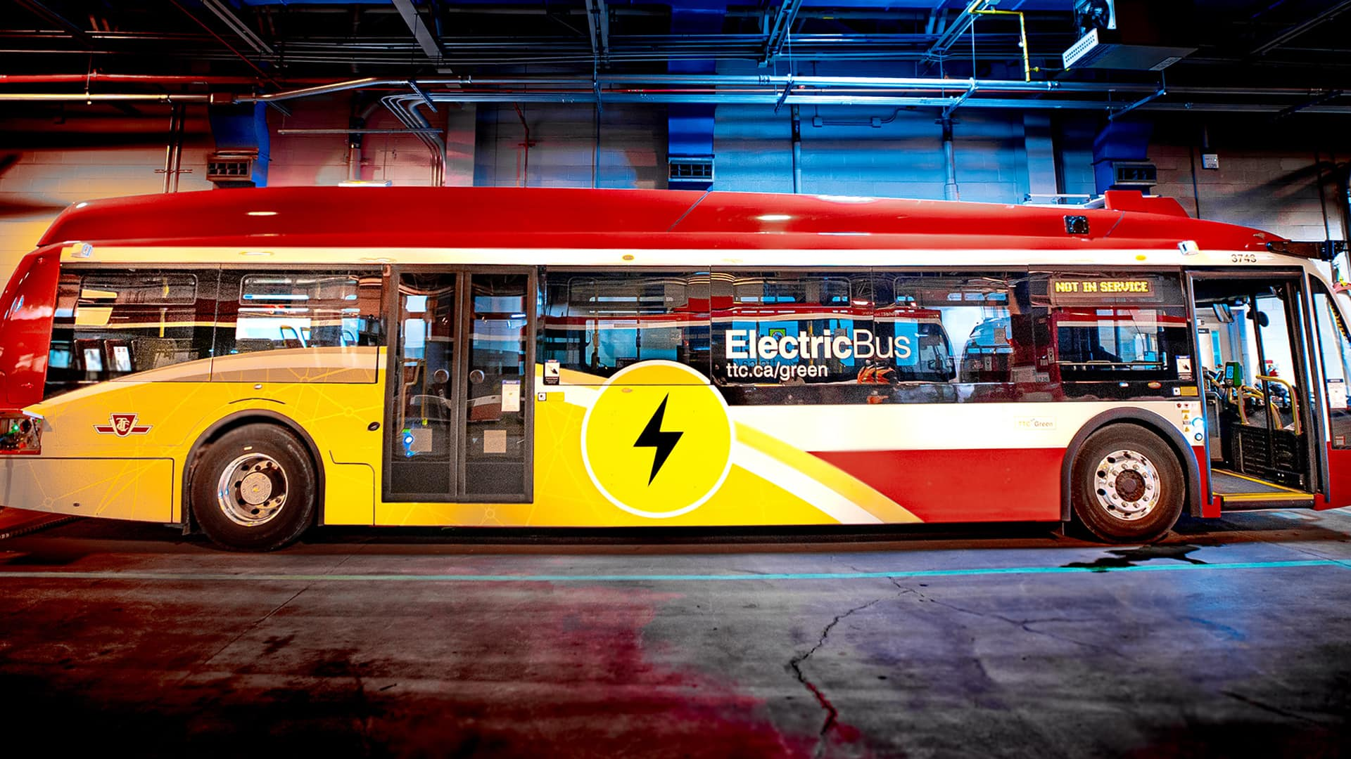 The Toronto Transit Commission is participating in a new pilot program aimed at reducing carbon emissions