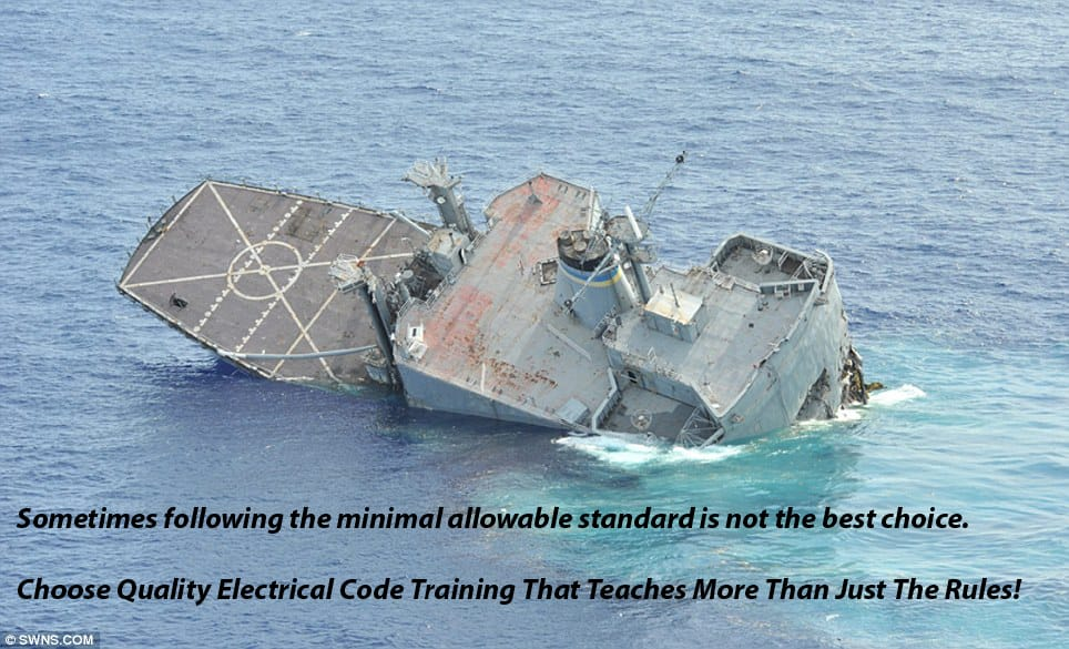 Quality Electrical Education is more than being told what rules to follow.