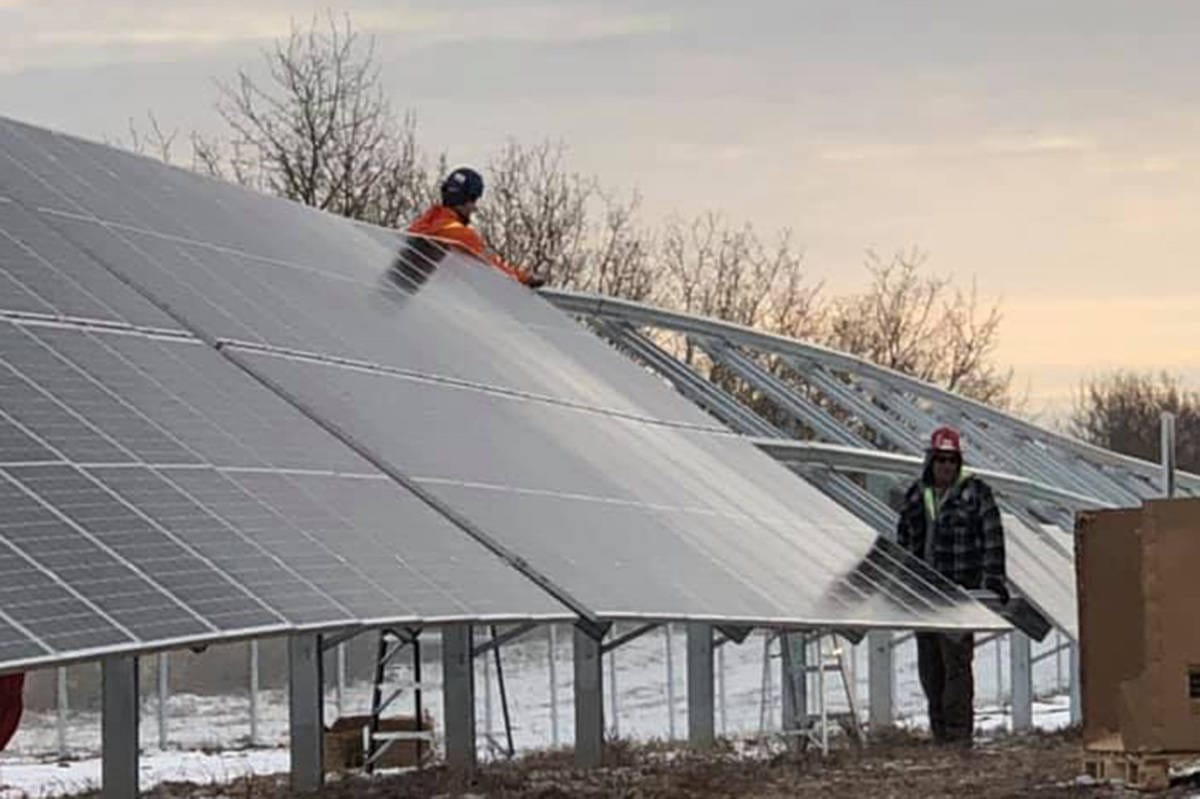 One-megawatt solar energy project to begin selling power to provincial grid next month