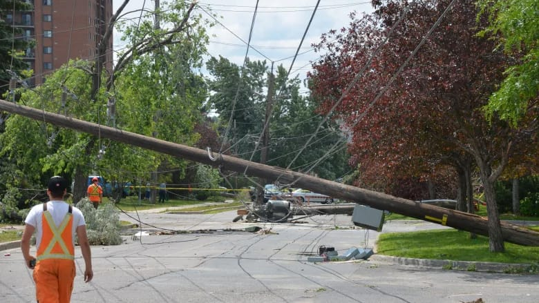 Sudbury Hydro says power should be restored by the weekend