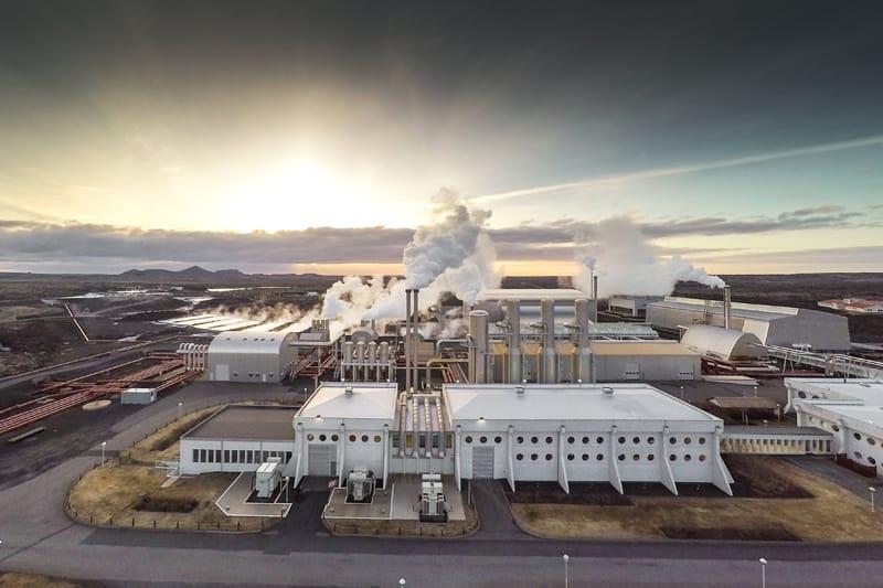 Iceland's Svartsengi power plant.