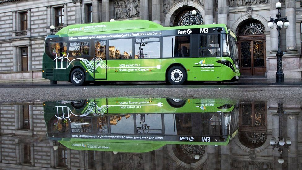 Scotland's biggest bus operator has announced it is building the UK's largest electric vehicle charging hub.