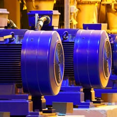 More than 70 per cent of all industrial-consumed electricity is consumed by electric motors.