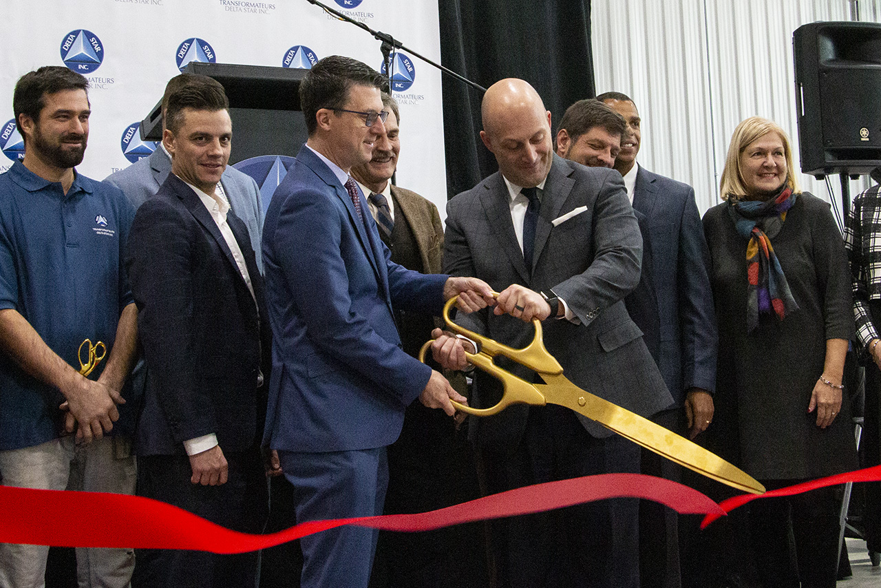 Delta Star, Inc. Announces Grand Opening of Newly Expanded, State-Of-The-Art Winding Room at Quebec Facility