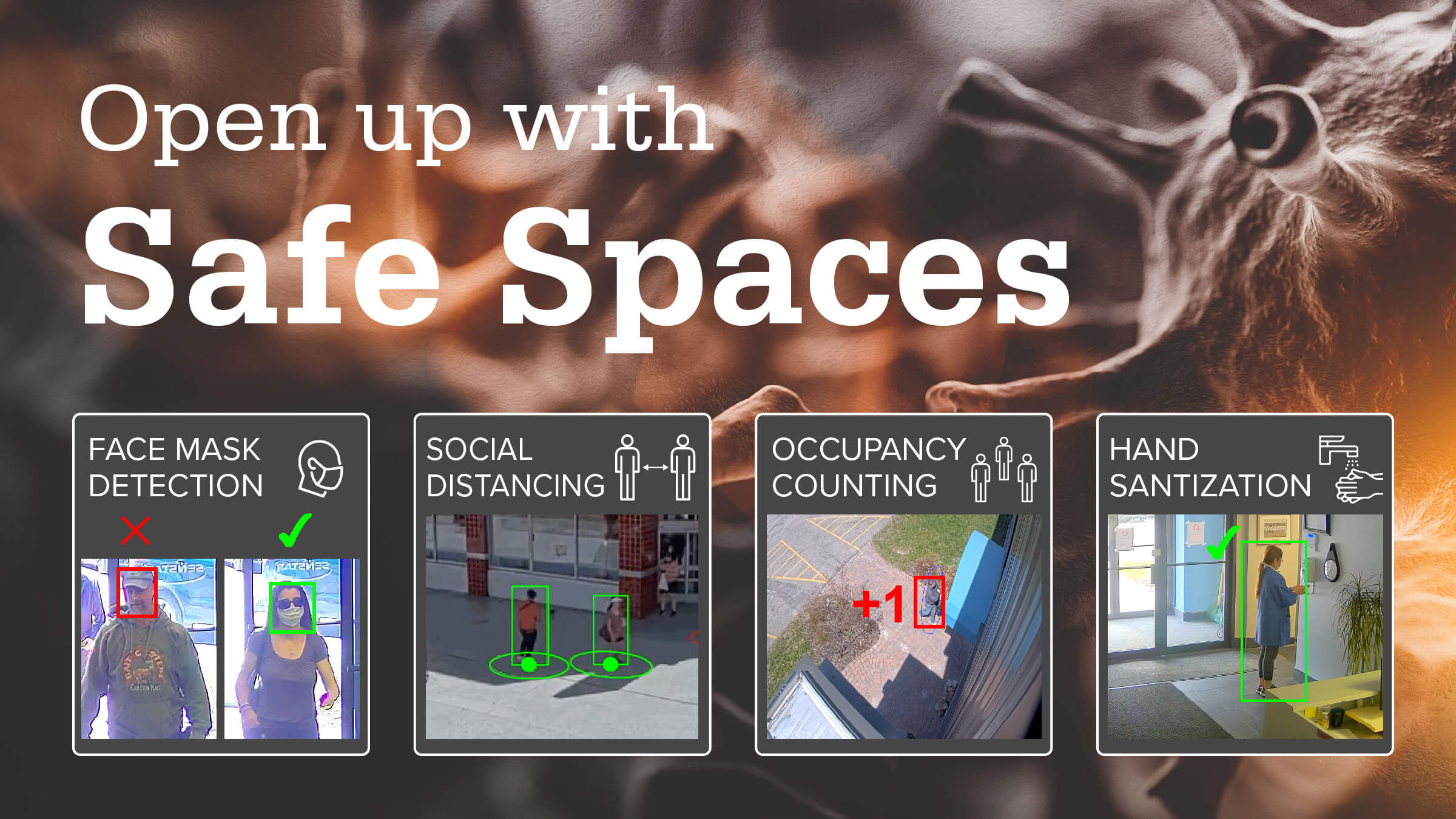 SENSTAR INTRODUCES SAFE SPACES VIDEO ANALYTICS SOLUTIONS