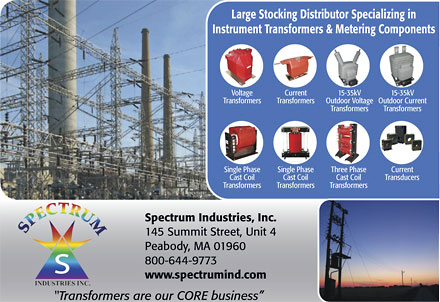 Large Stocking Distributor Specializing in Instrument Transformers and Metering Components