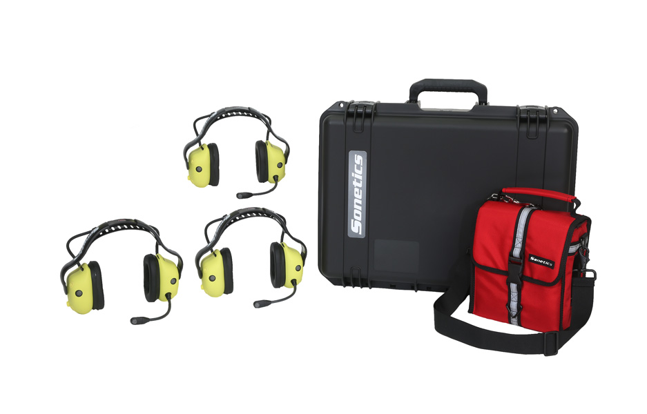 Sonetics Team Portable Wireless Headset System