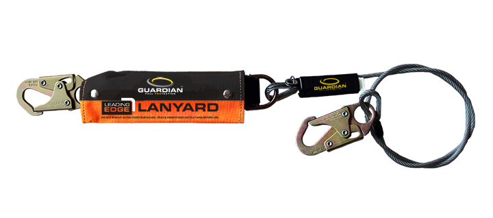 GUARDIAN FALL PROTECTION UNVEILS LEADING-EDGE CABLE LANYARD