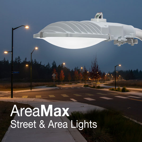 AreaMax LED Street & Area Light at Electricity Forum