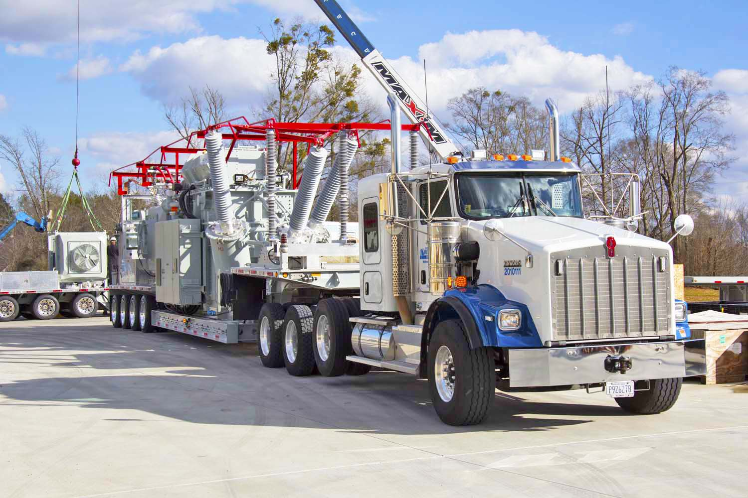 Mobile Substations & Auxiliary Trailers