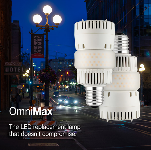 OMNIMAX - The LED retrofit that doesn't compromise at Electricity Forum