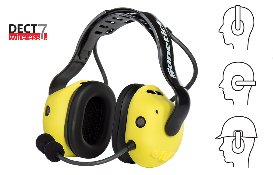 Sonetics APX377 Team Wireless Headset at Electricity Forum