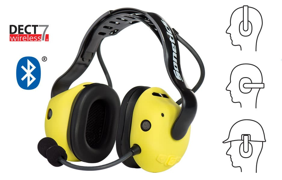 Sonetics APX379 Team Wireless Headset with Bluetooth at Electricity Forum