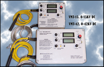HIGH VOLTAGE MEGMETER® SERIES